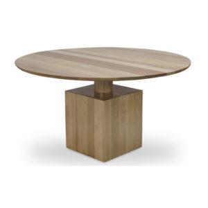 Mesa jantar redonda em madeira