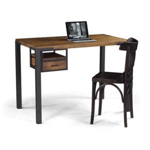 Escrivaninha madeira e ferro