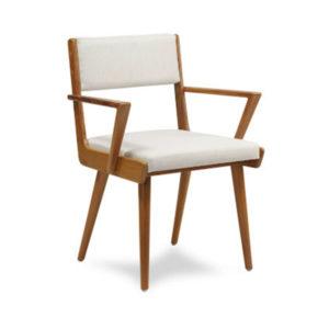 Cadeira madeira estofamento