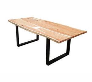 Mesa de Jantar Orgânica  Plancha única